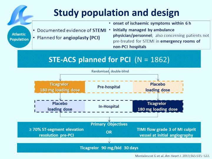 Study population and