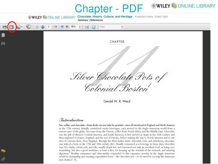 Chapter - PDF