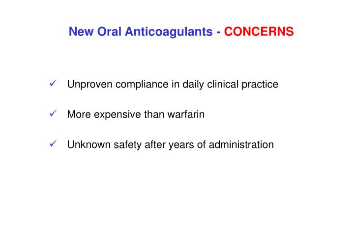 Unproven compliance in daily clinical practice