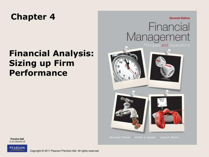 financial analysis sizing up firm performance n.