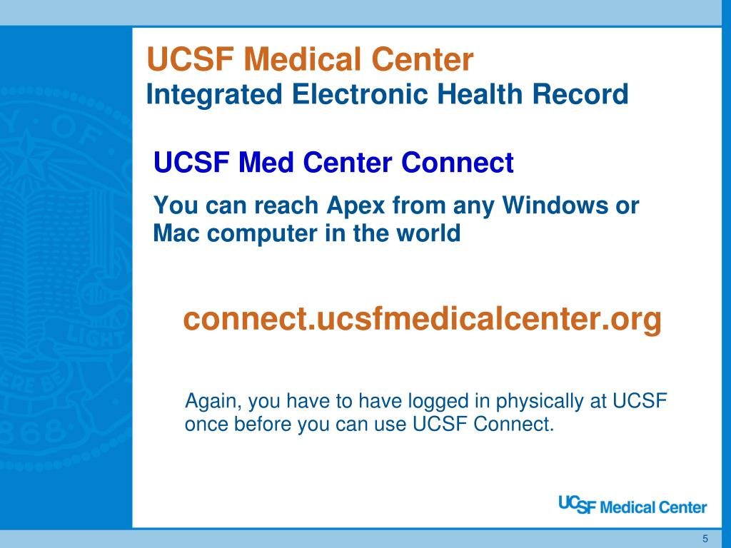 PPT - UCSFMC Clinical Information Systems PowerPoint