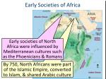 early societies of africa