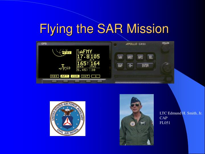 flying the sar mission n.