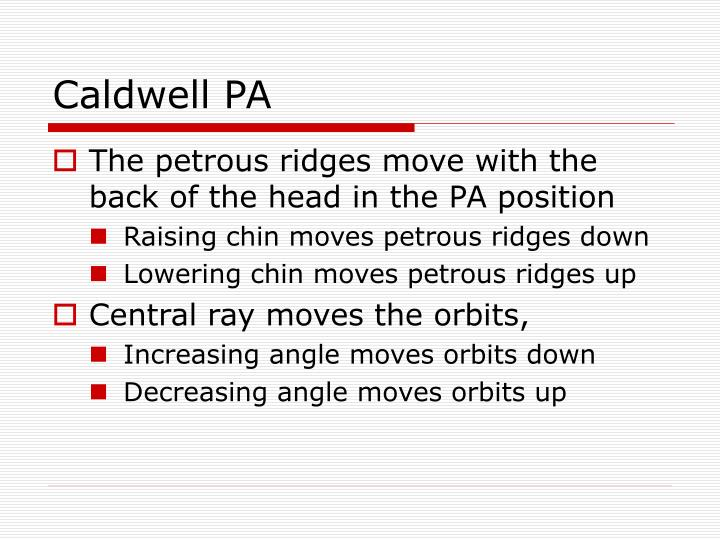Caldwell PA