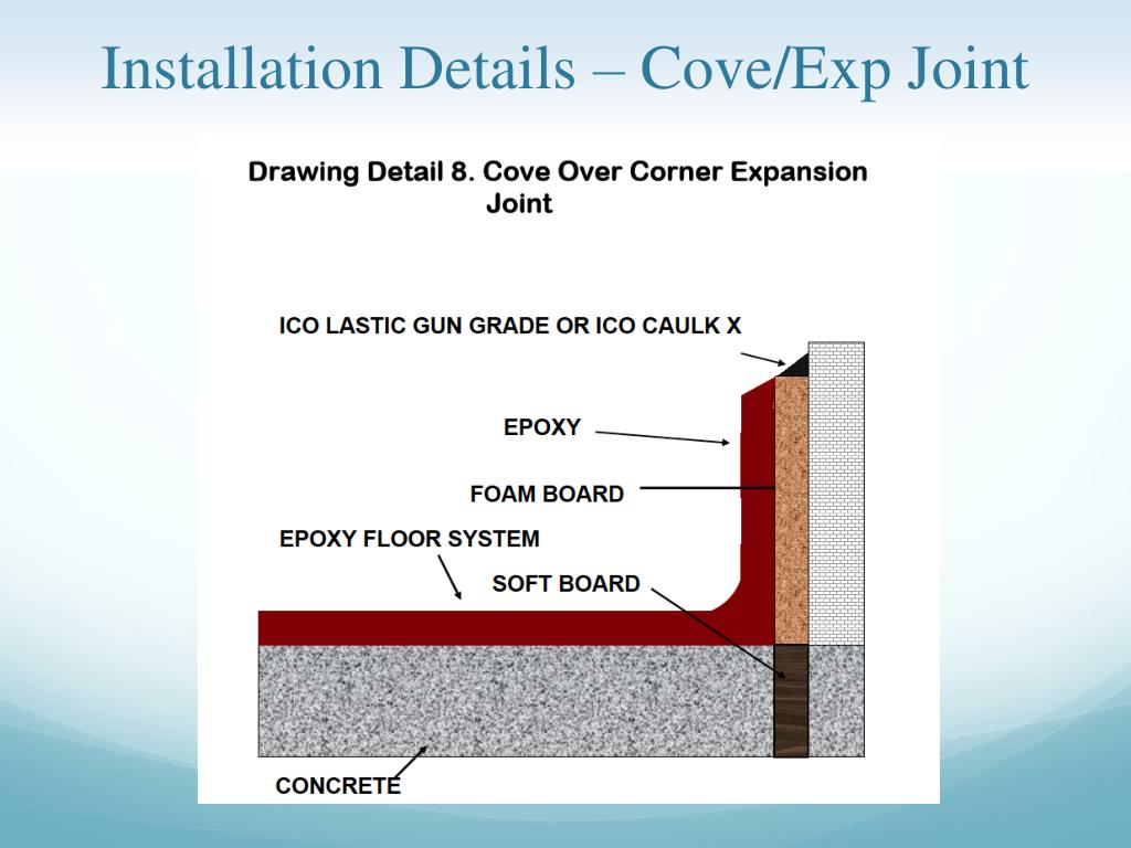 Ppt Urethane Cements Or Epoxy Coatings Flooring In A