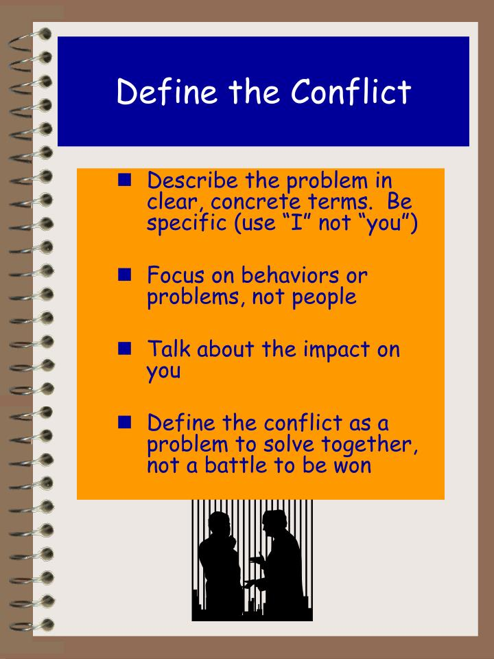 Define the Conflict
