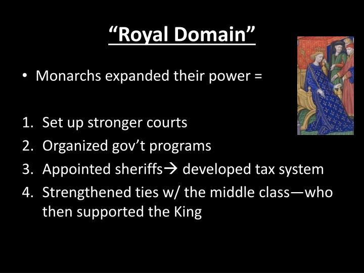 """""""Royal Domain"""""""
