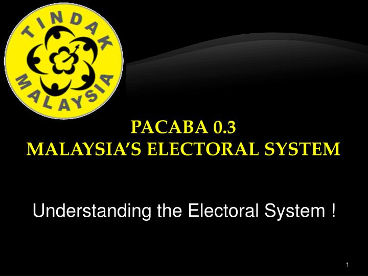 ways to improve the malaysian electoral system There are other voting systems that are identical to plurality in every way, except that they use a runoff after the general election or instant runoff voting to increase the chances that the winner of an election has the support of the majority of voters.