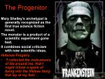 the progenitor