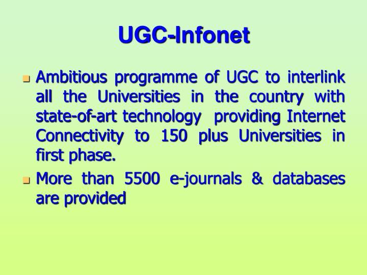UGC-Infonet
