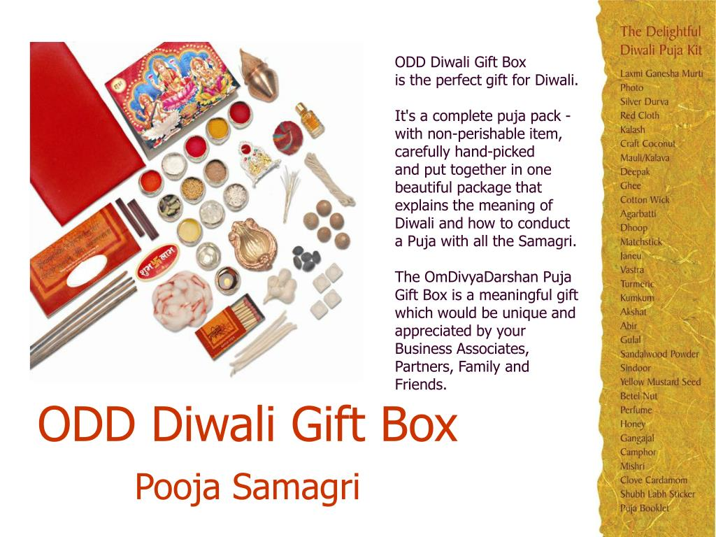 PPT - AN IDEAL GIFT THIS DIWALI FOR YOUR BUSINESS ASSOCIATES