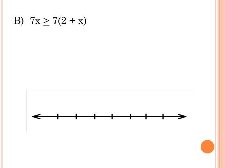 B)  7x