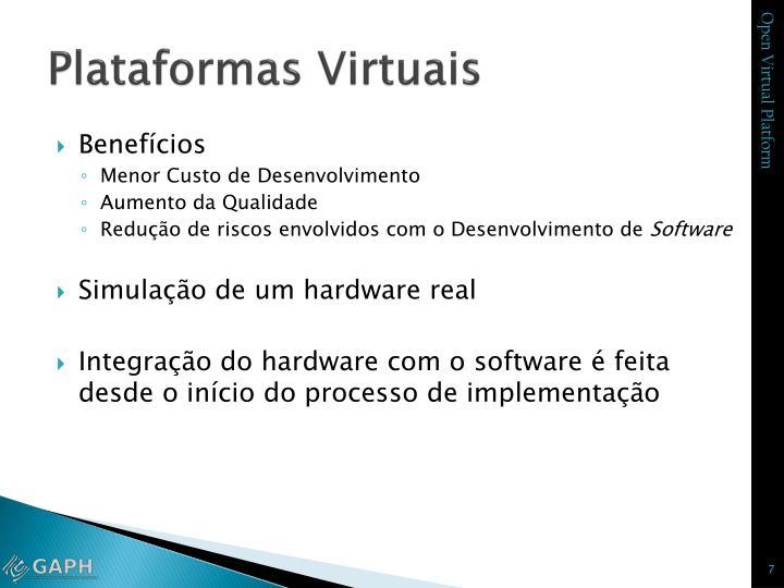 Plataformas Virtuais