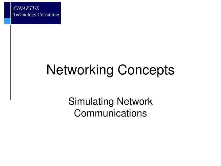 networking concepts n.