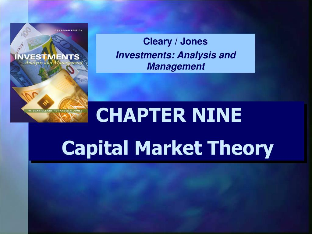 Ppt capital market theory powerpoint presentation, free download.