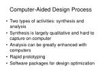 computer aided design process