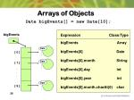 arrays of objects3