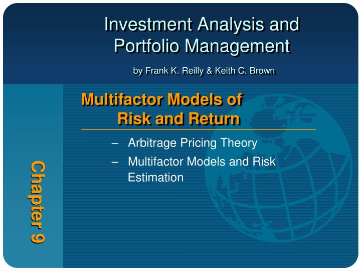 risk and return analyis and portfolio management Portfolio and risk management from indian school of business this course teaches you the concepts of risk and expected return this course presents an overview of the basic concepts and techniques used to construct financial portfolios.