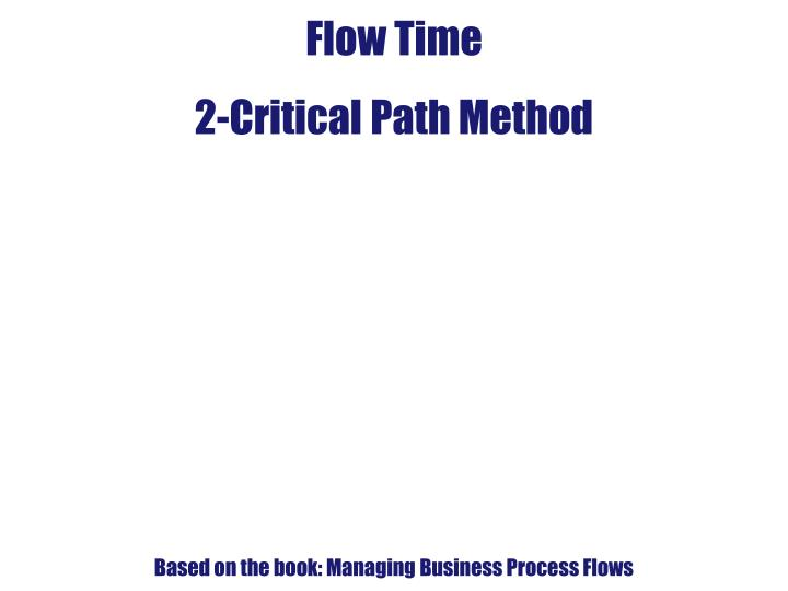two business a2 level critical path Home a level and ib applied business critical path analysis - a management tool that uses network analysis to help project managers to handle complex and time sensitive operations.