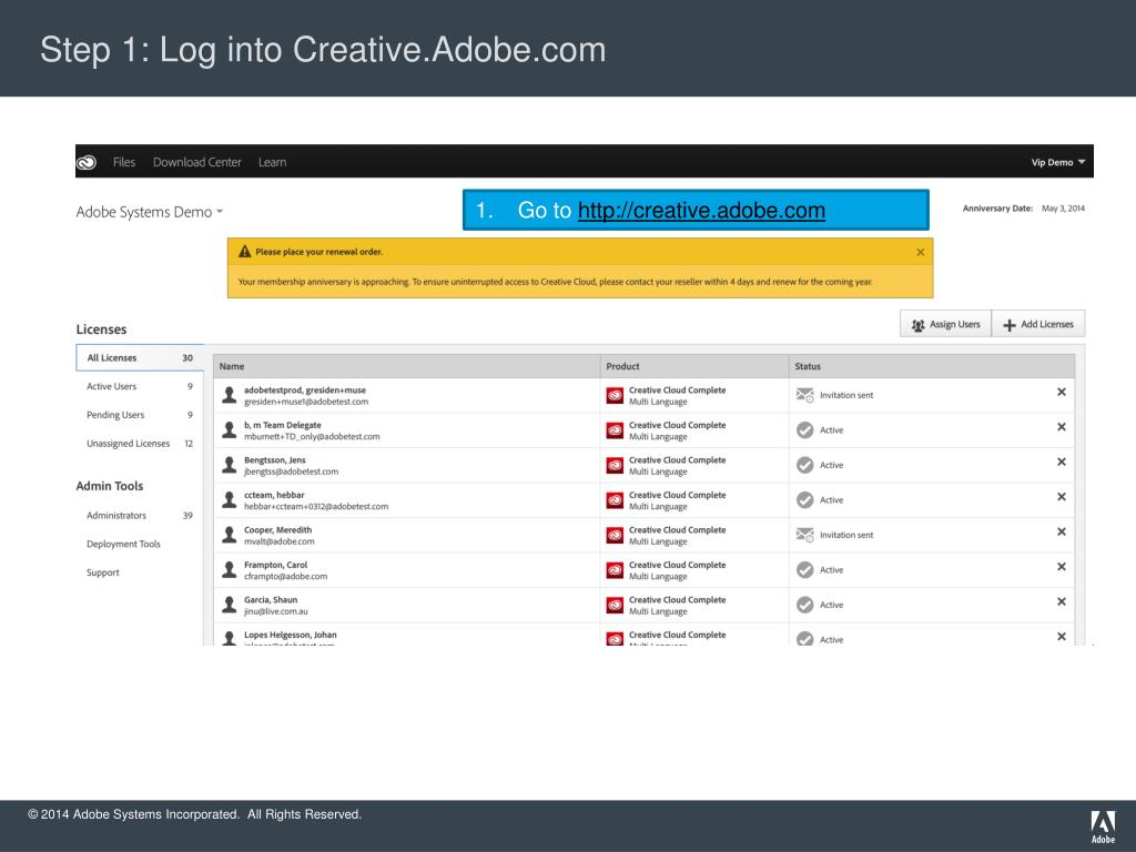 PPT - Creative Cloud Packager 1 6: Walk-through for CCT
