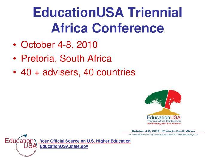 EducationUSA Triennial Africa Conference