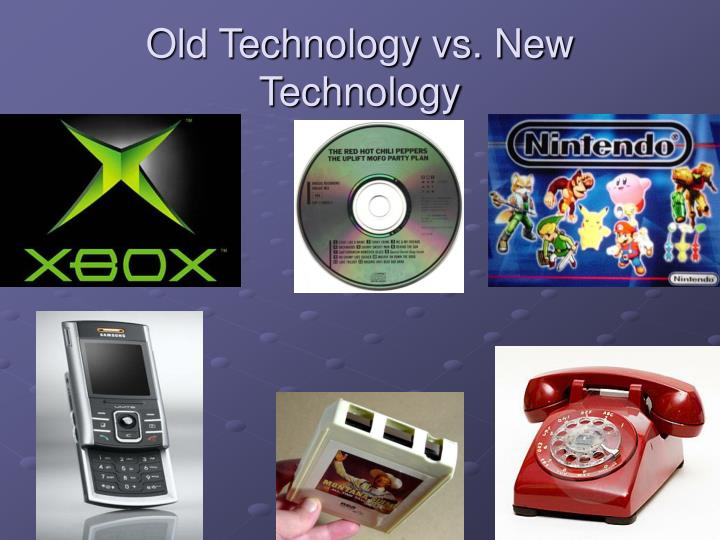 old technology vs new technology Old technology responses to new technology threats: demand heterogeneity and  technology retreats ron adner and daniel snow.