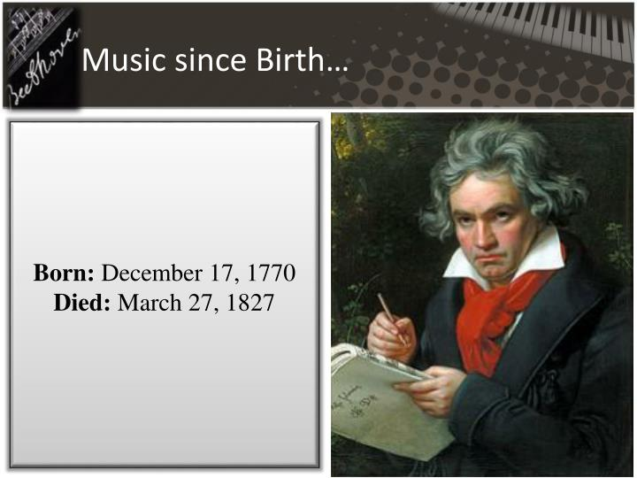 an introduction to the life of ludwig van beethoven a composer Ludwig van beethoven: string quartet f-major  repertoire explorer study score 997: ludwig van beethoven:  possible impact of beethoven's personal life on his.