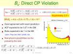 b s direct cp violation1