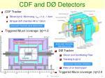 cdf and d detectors