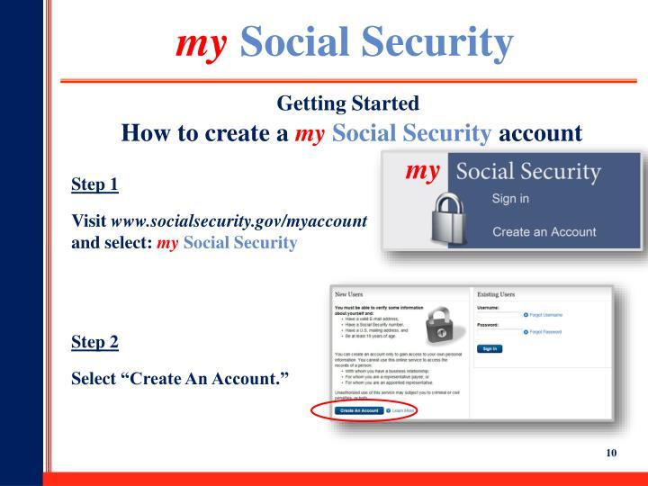 Www socialsecurity gov my account login
