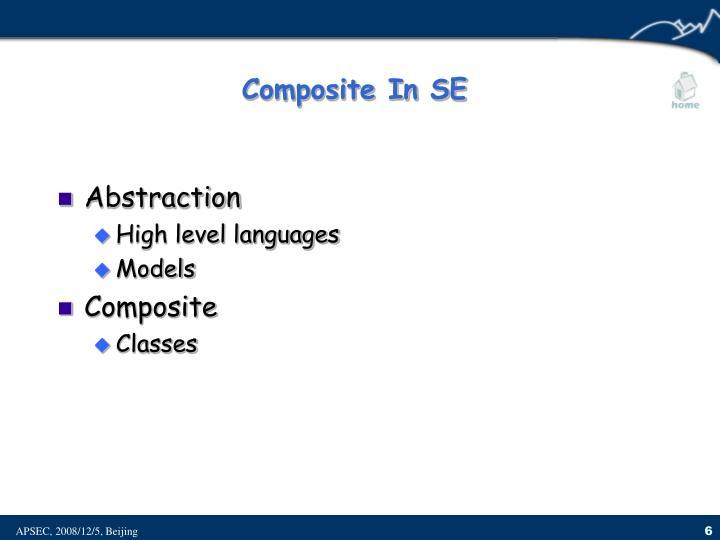 Composite In SE
