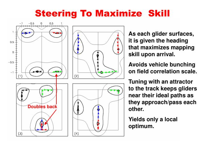 Steering To Maximize  Skill