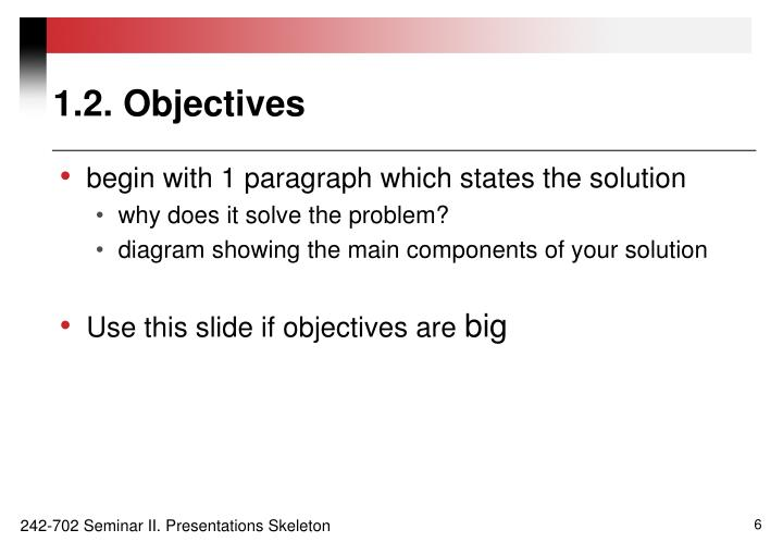 1.2. Objectives