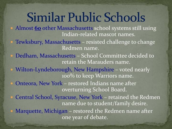 Similar Public Schools