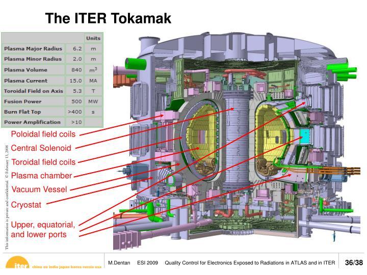 The ITER Tokamak