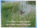 coconino county parks and open space program