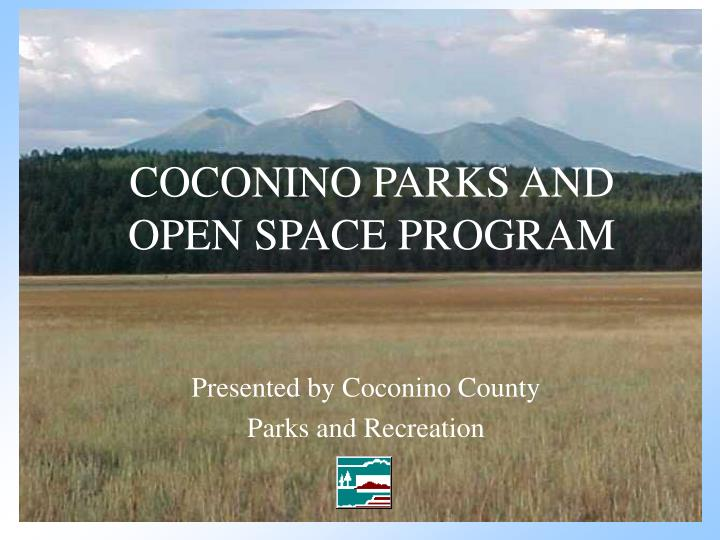 coconino parks and open space program n.