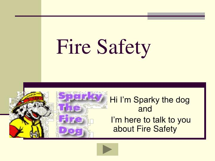 fire safety n.