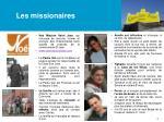 les missionaires
