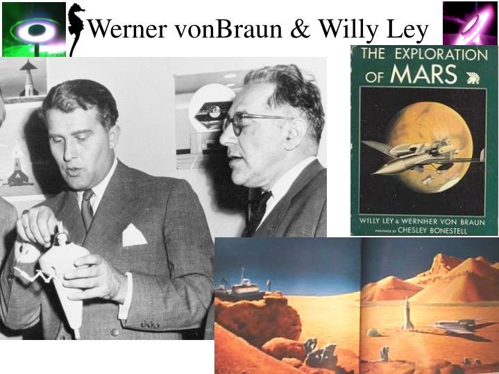 Werner vonBraun & Willy Ley