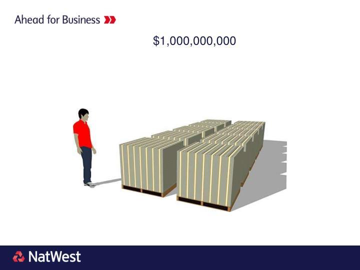 $1,000,000,000