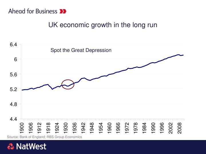 UK economic growth in the long run