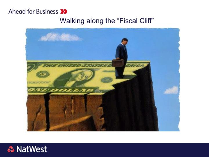 """Walking along the """"Fiscal Cliff"""""""
