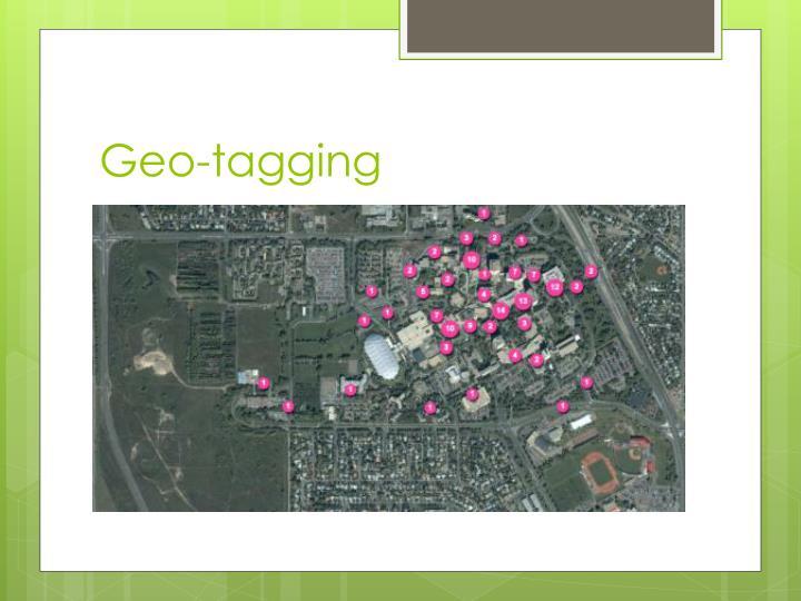 Geo tagging2