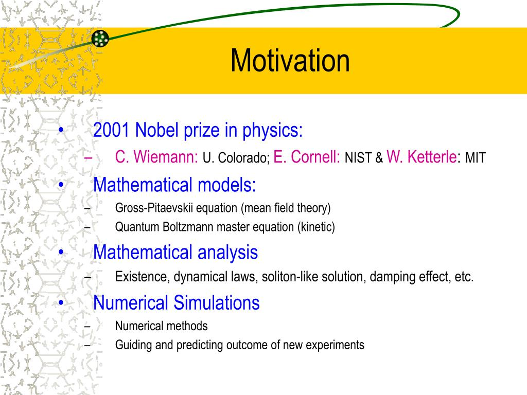 PPT - Mathematical Analysis and Numerical Simulation for Bose