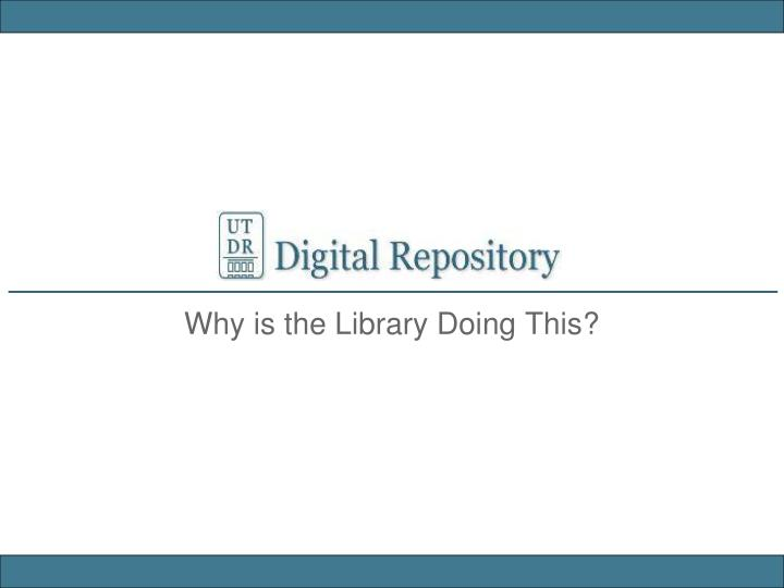 do library based dissertation