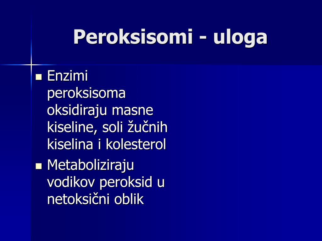 Peroksisomi