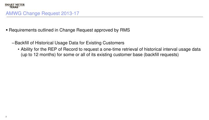 Amwg change request 2013 17