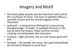 imagery and motif