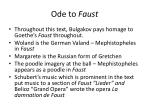ode to faust